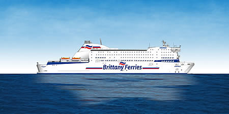 <h5>4 Brittany Ferries Armorique</h5>